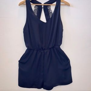 H&M's Divided Romper Racerback and Lace Details